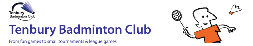 Welcome to Tenbury Badminton Club