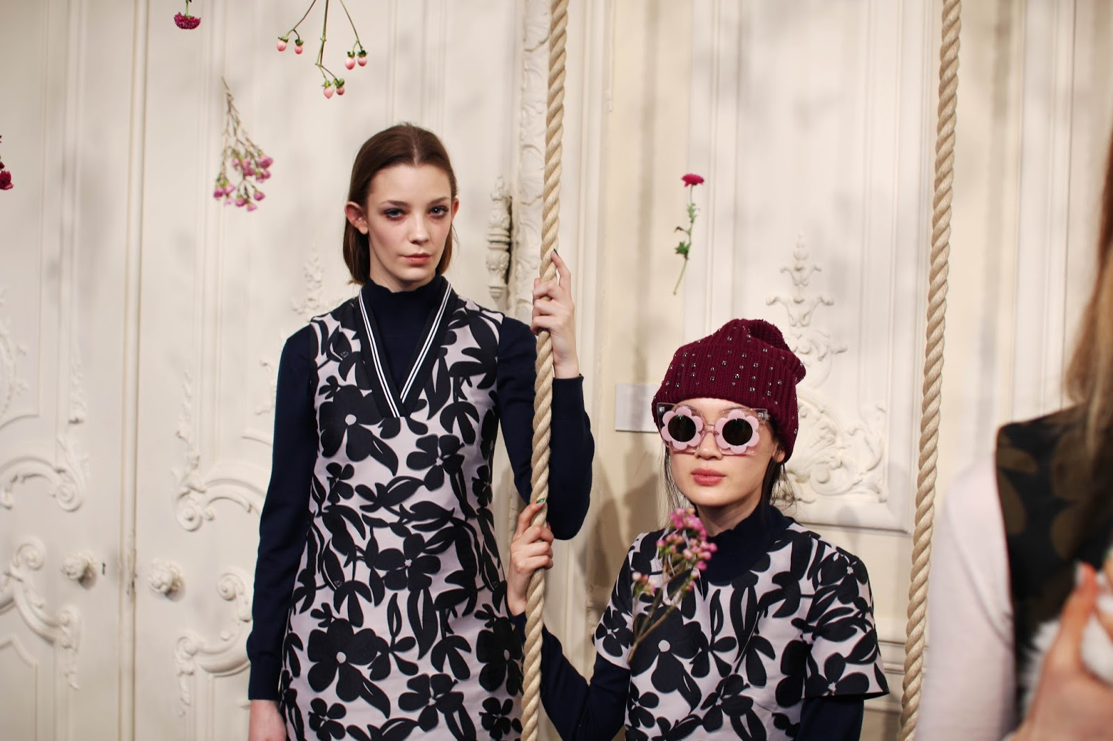 LFW AW15: Markus Lupfer and Woodland themes