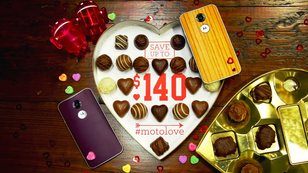 Feel the #Motolove With Up to $140 Off Your Purchase at Motorola.com
