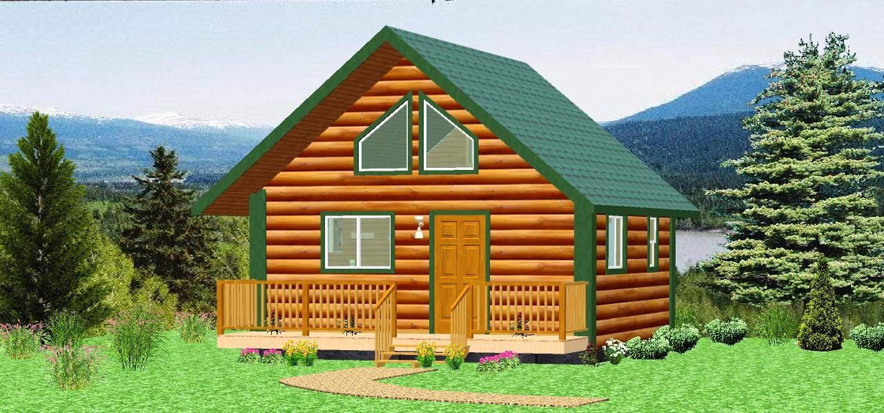 Elk river log cabins alaska collection for Kit homes alaska