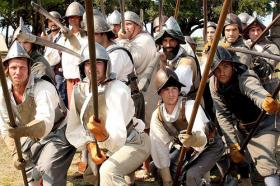 June 2: Drake's Raid re-enactment | StAugustine.com 3  1drakespikes 2011 0 St. Francis Inn St. Augustine Bed and Breakfast