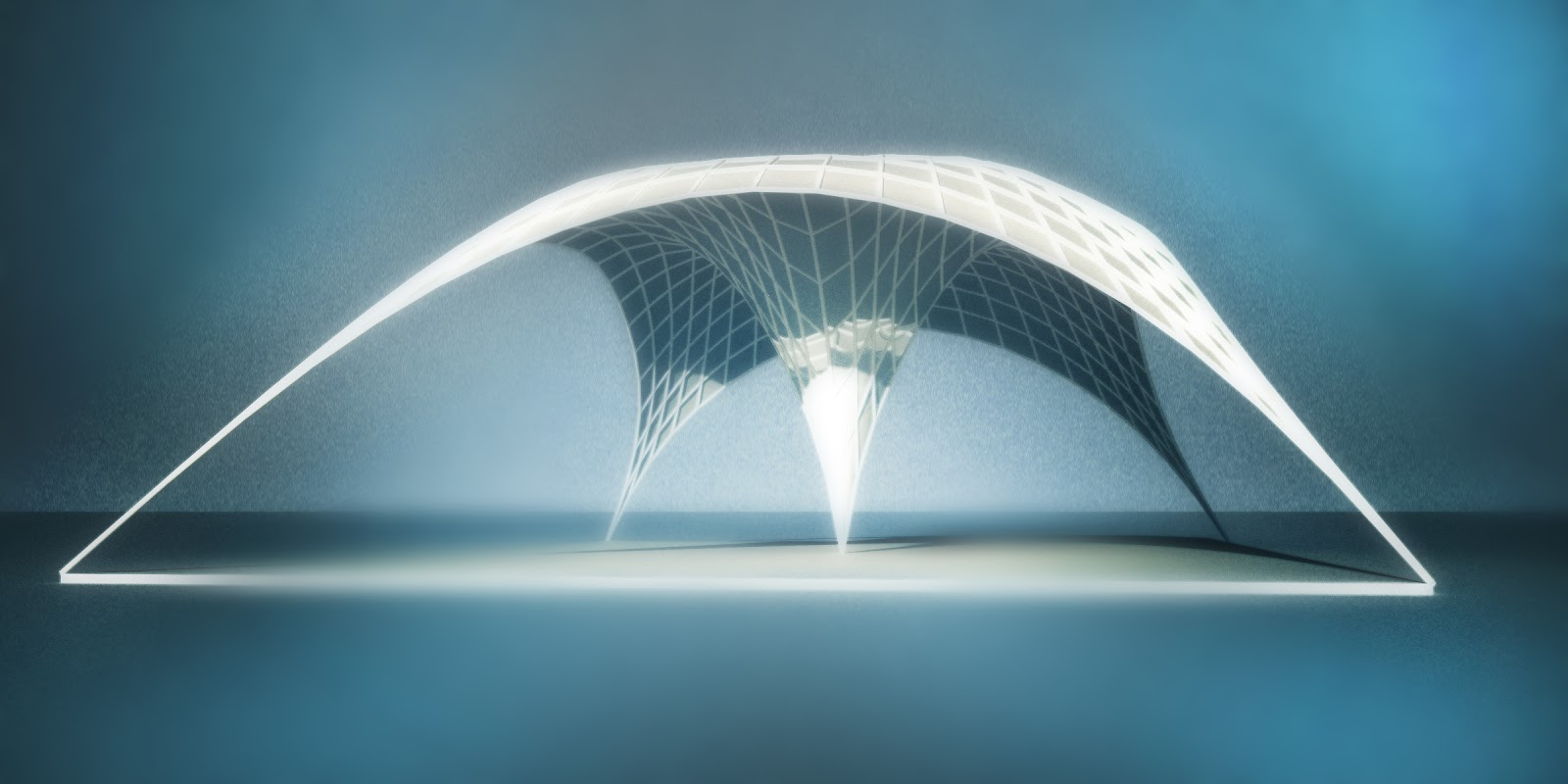 Causa Locuta: Catenary Pavilion - Sketch