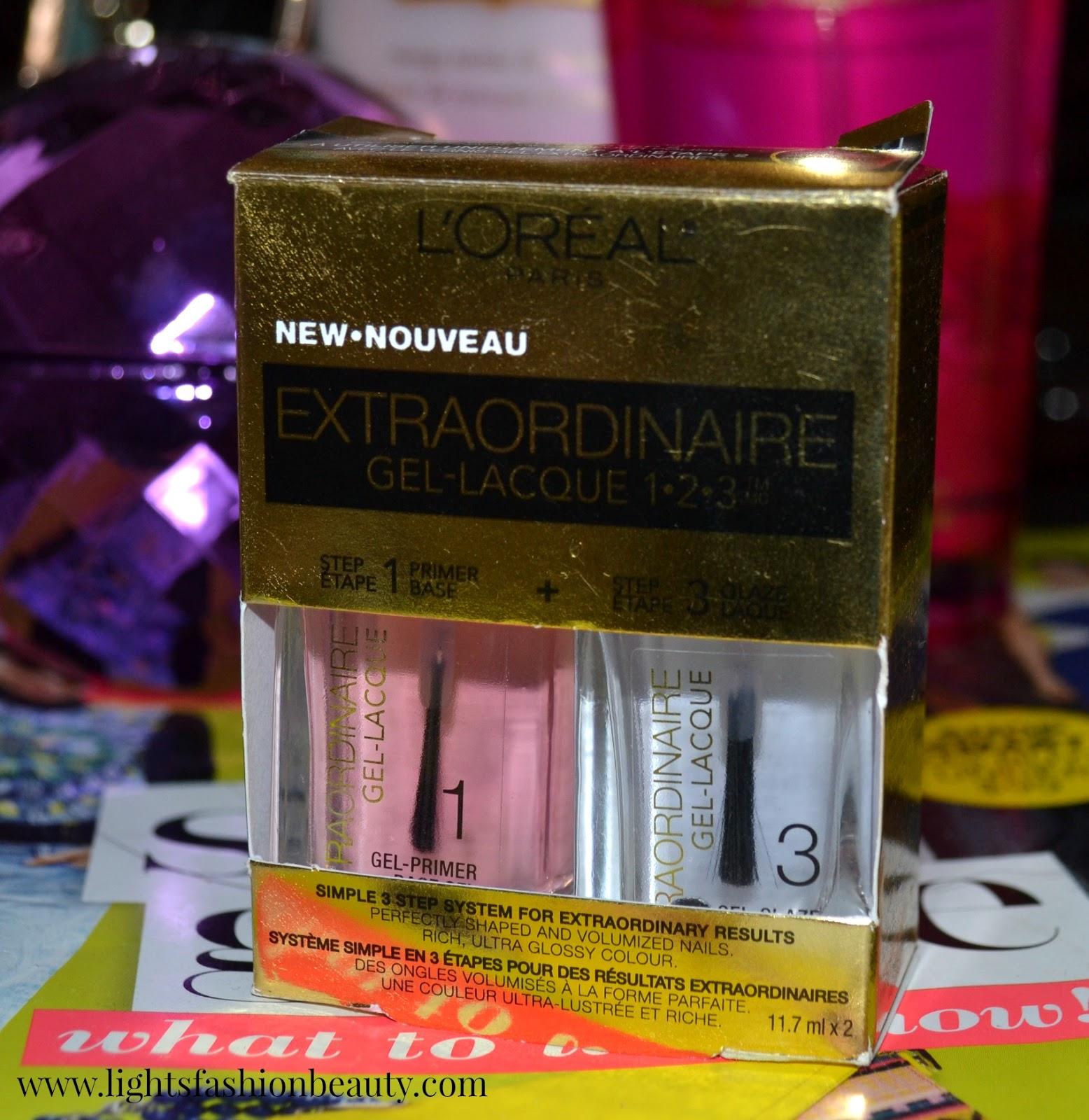 L'Oréal Extraordinaire Gel Lacque Kit