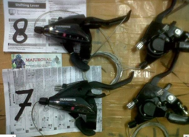 shifter 7-8 speed shimano