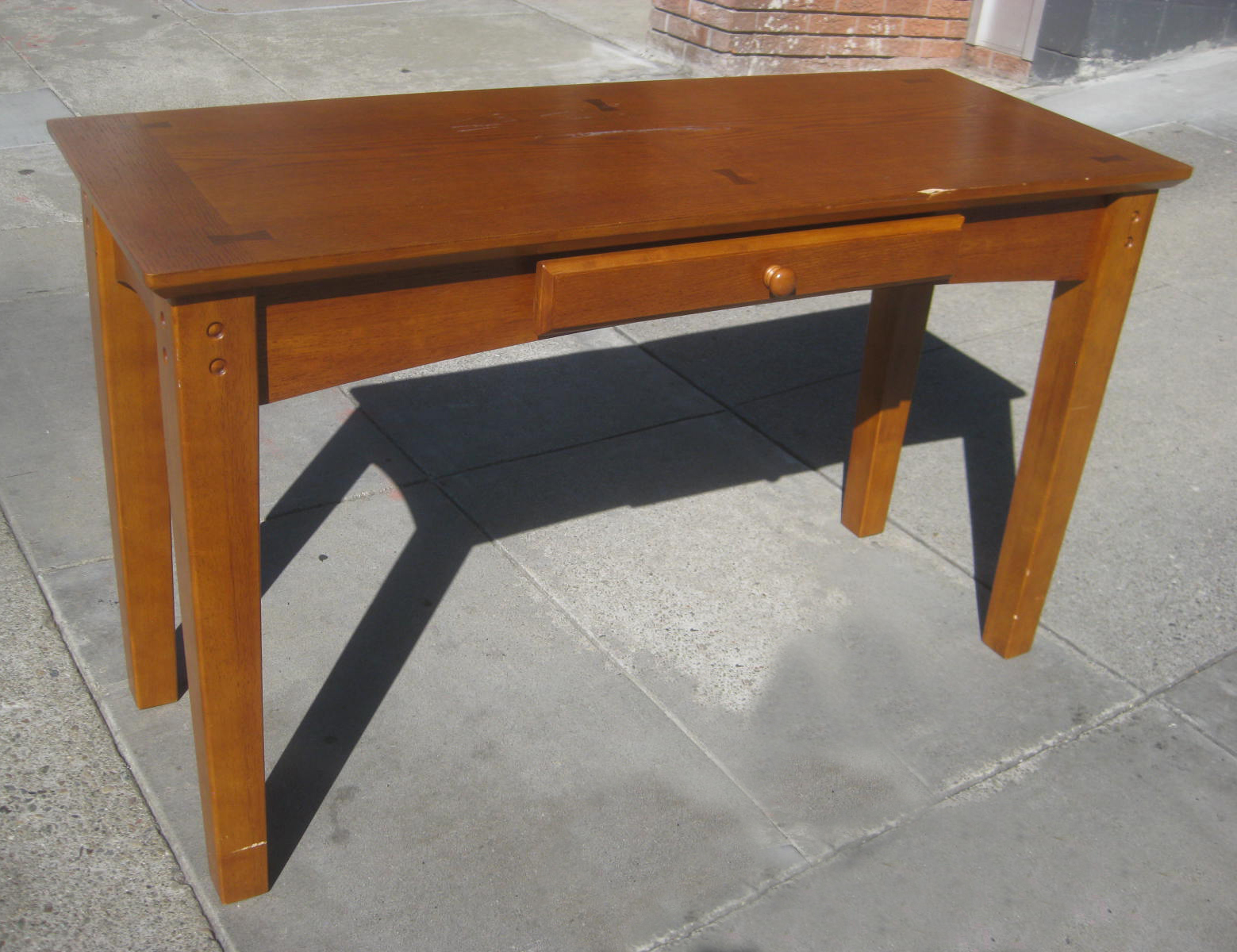 uhuru furniture collectibles sold mission style desk 60
