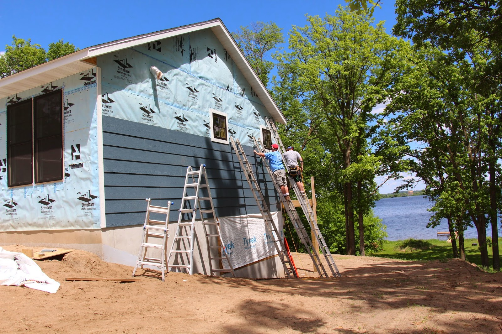 The house brewery exterior update for Prefinished siding