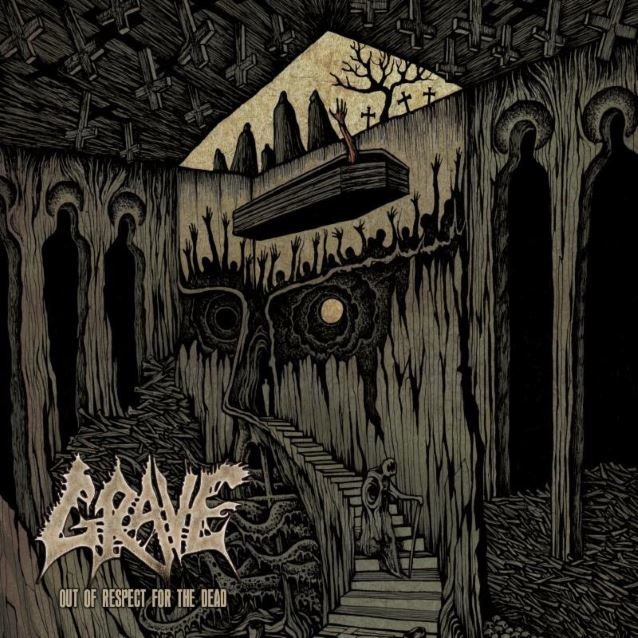 GRAVE Publikasikan Cover Art Album Barunya