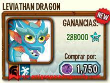 imagen del dragon leviathan en almacen de dragon city