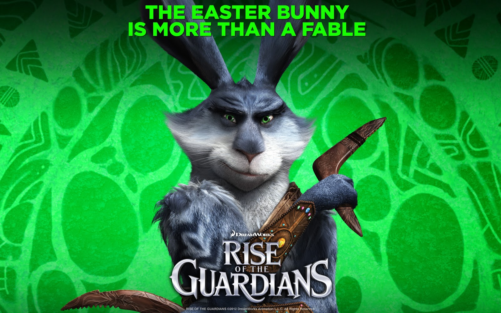 The Easter Bunny : Rise of the Guardians Movie Wallpaper