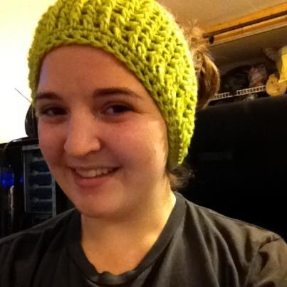 The Hippy Hooker Ribbed Headbandear Warmer Free Crochet Pattern