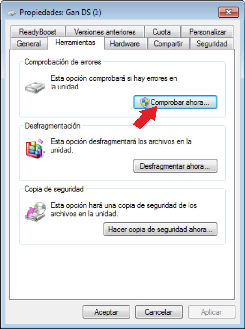 Villatec optimizar pc como saber si un disco duro esta for Como saber si un pozo esta legalizado