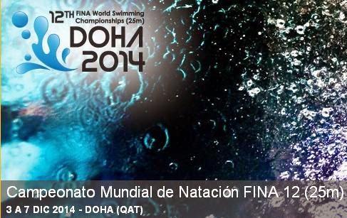 NATACIÓN - Mundial en piscina corta 2014 (Doha, Qatar)