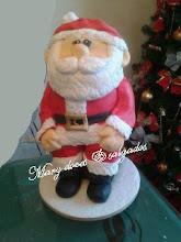 Bolo natalino esculpido