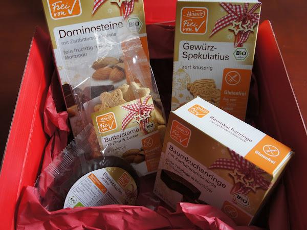 Alnavit Weihnachtsprodukte - glutenfreie Plätzchenvorschau