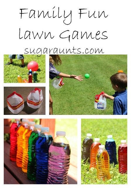 Family Reunion Lawn Games