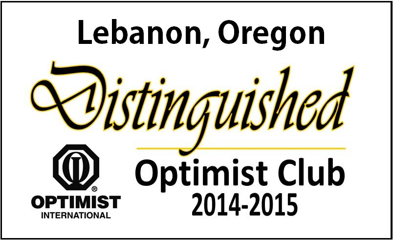 Recognized by Optimist International