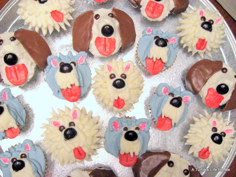 Dog Cupcakes A Turtles Life for Me