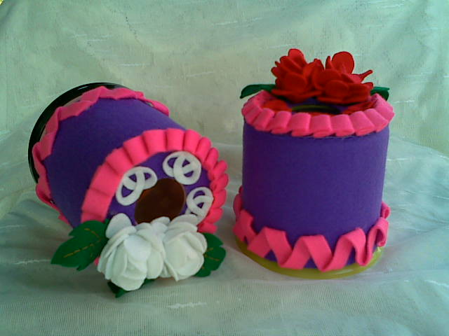 tempat hp flanel cake ideas and designs