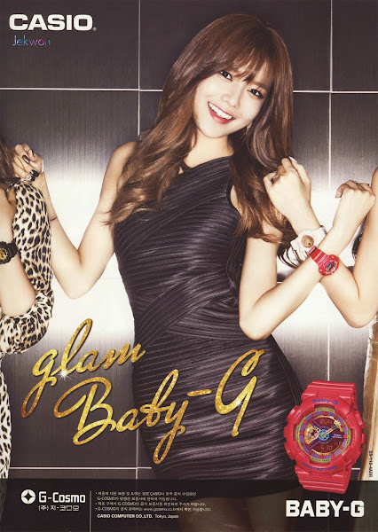 Sooyoung SNSD Baby-G Glam 2014