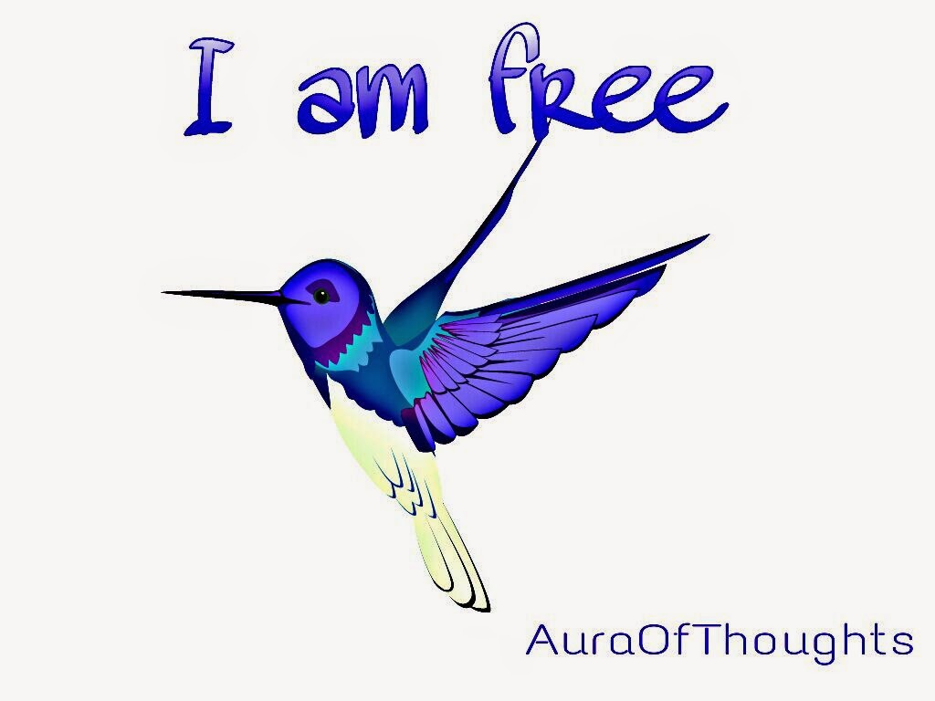 Feel free to be free - Aura of thoughts