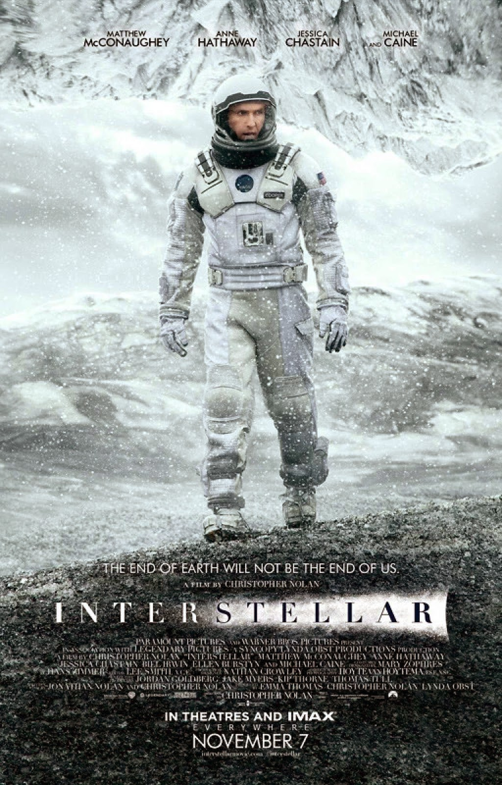 Interstellar - Poster | A Constantly Racing Mind