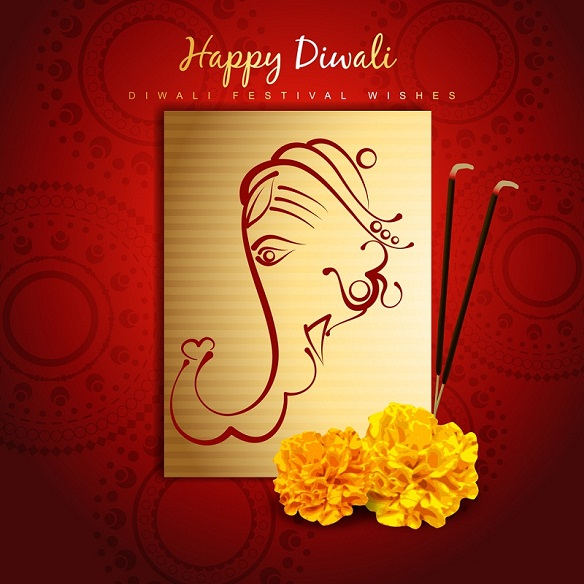 Handmade diwali greeting cards images designs happy diwali 2018 diwali cards ideas for kids m4hsunfo