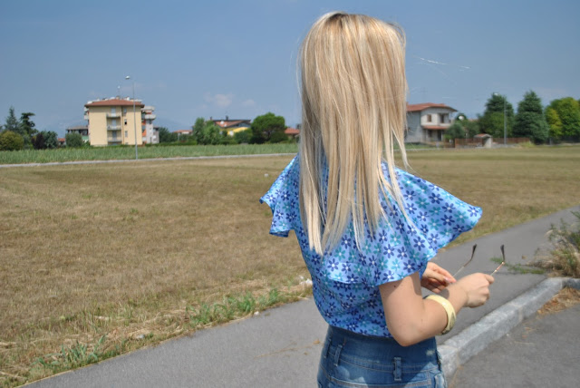 camicia in seta outfit estivi outfit agosto 2015 mariafelicia magno fashion blogger blog di moda blogger italiane di moda outfit 10 agosto 2015 silk shirt come abbinare una camicia in seta camicia in seta a mezza manica fashion bloggers italy summer outfits august outfits