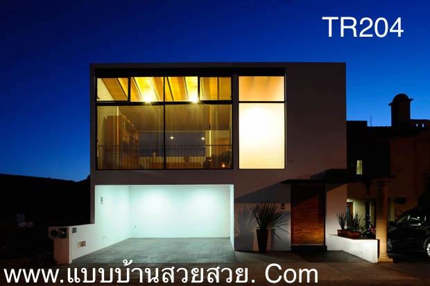 แบบบ้านสวย  บ้าน 2 ชั้น   TR204