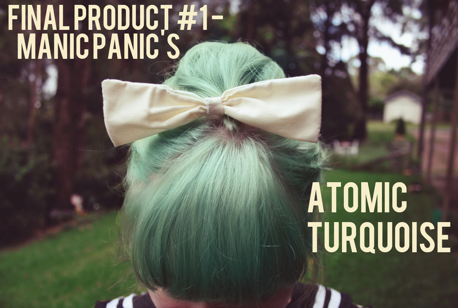 Turquoise Hair Dye Permanent