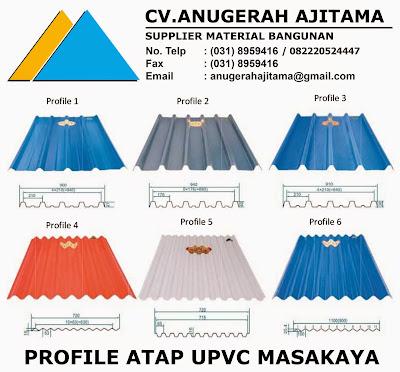 JUAL ATAP UPVC MASAKAYA
