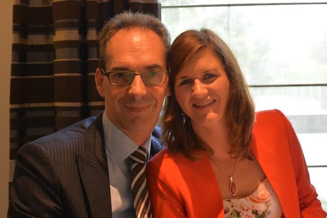 Filip Demuinck en Kristel Pardon