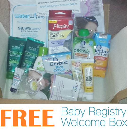 Baby coupons and samples