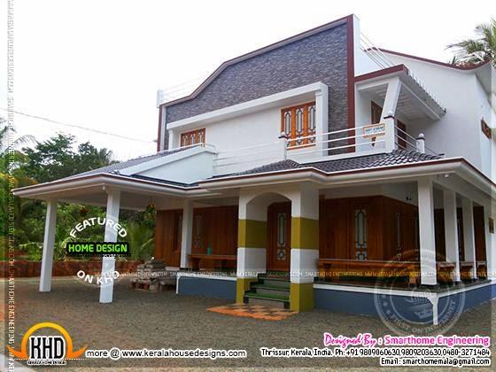 House at Malappuram, Kerala