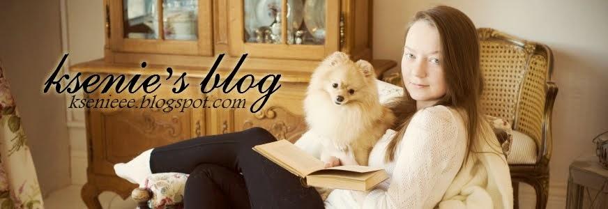 Ksenie's blog