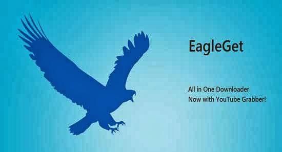 آخر اصدار من المنافس الشرس لبرنامج انترنت داونلود مانجر EagleGet 1.1.7.4 Final