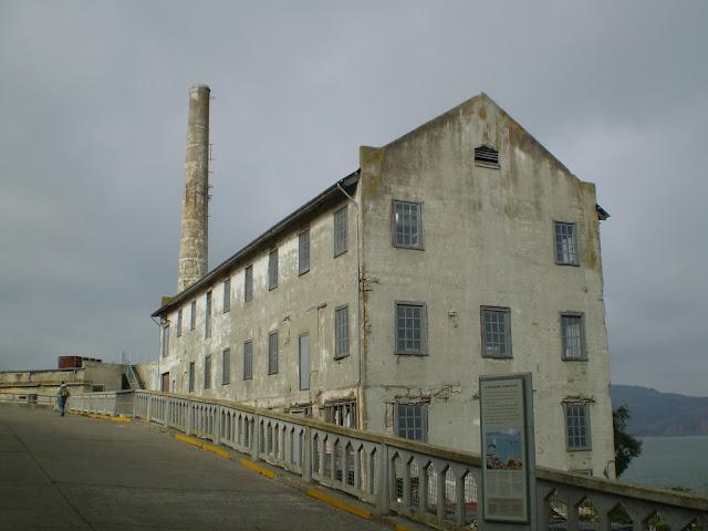 Powerhouse em Alcatraz