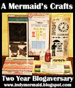 LISA OVER AT A MERMAIDS CRAFTS IS HAVING A @ YEAR BLOG GIVEAWAY!