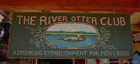 Otter Club sign