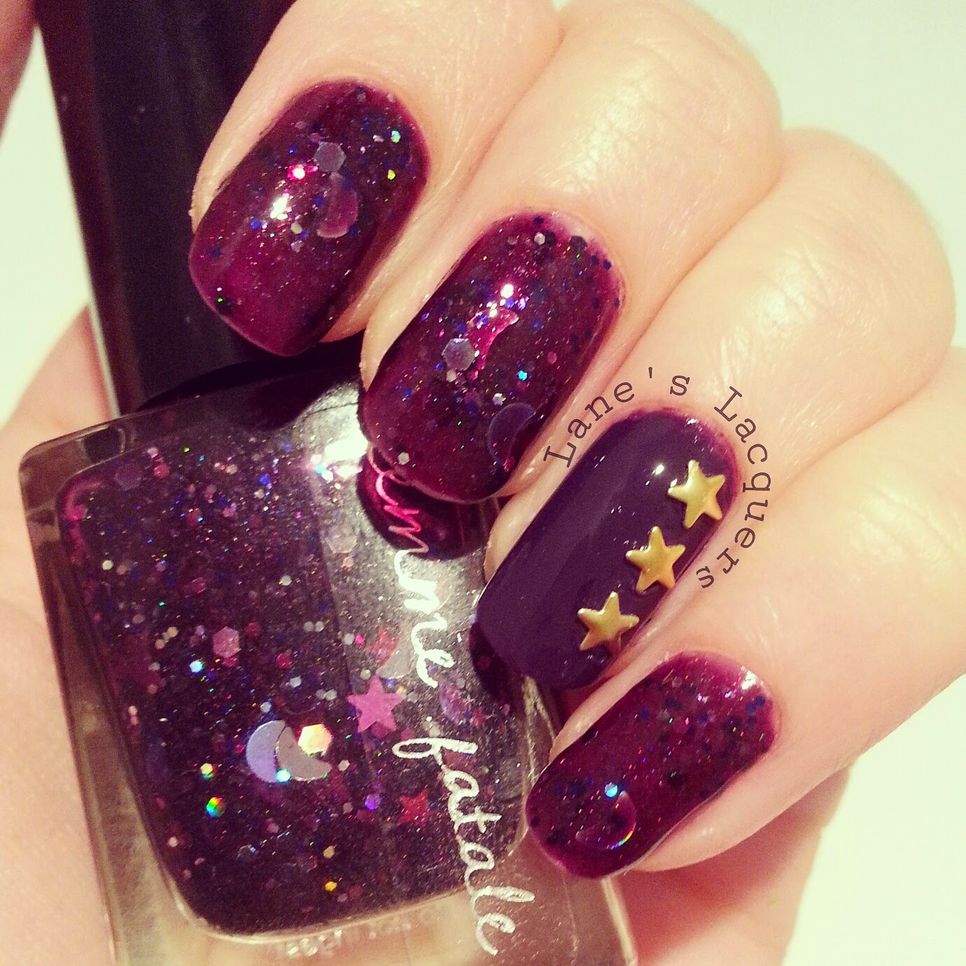 femme-fetale-edge-of-the-cosmos-gold-star-studs (2)