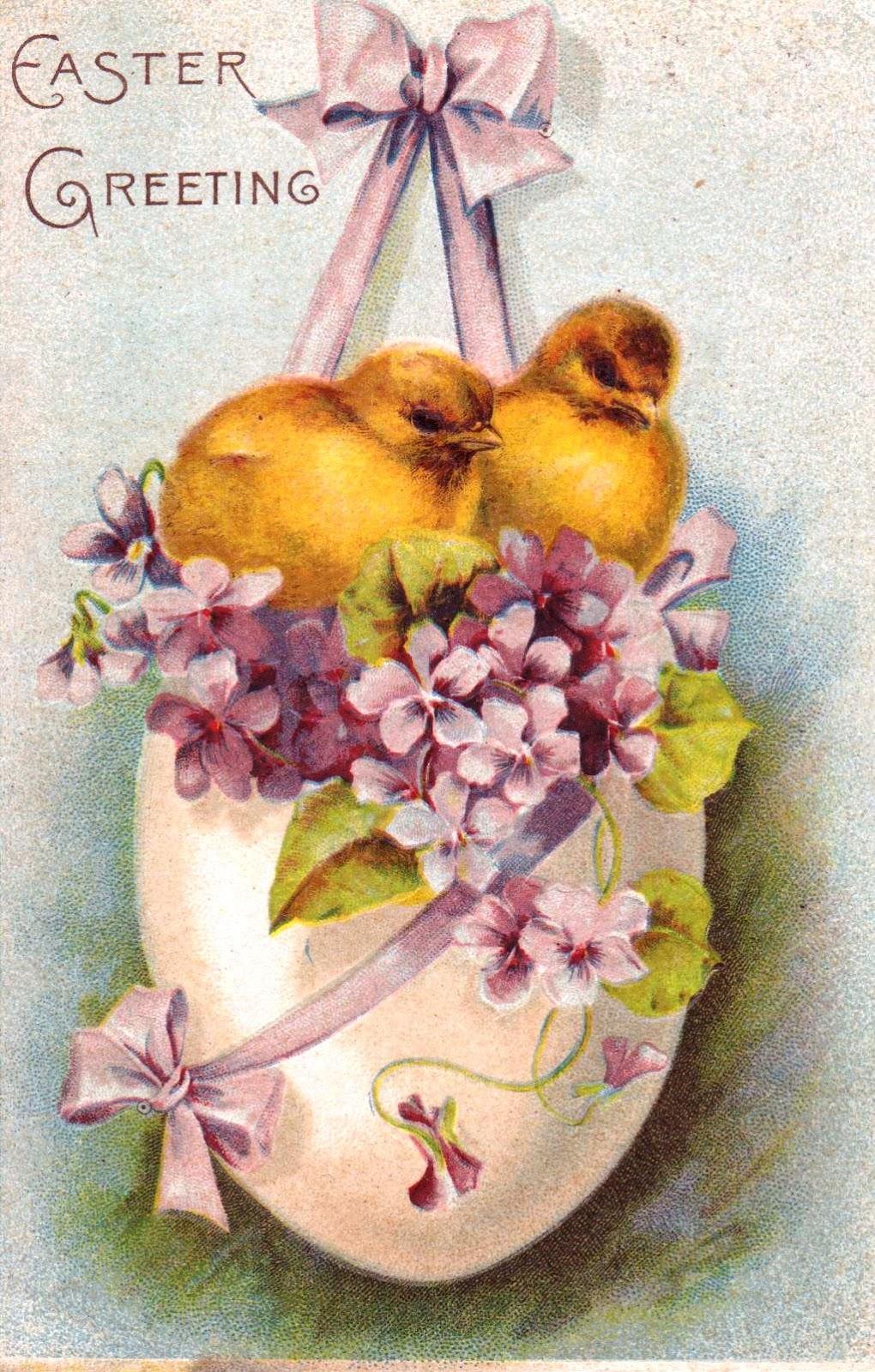 Maximum embellishment vintage easter postcards - Vintage bilder kostenlos ...