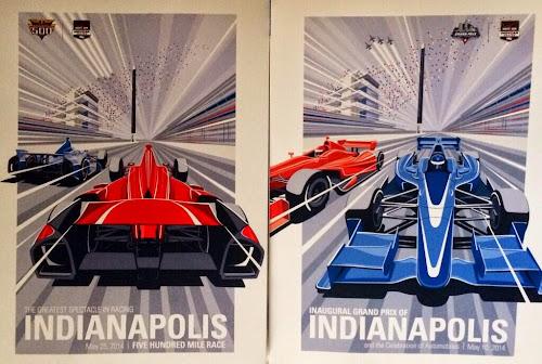 E chegou a Indy500 ... oooops ... Grand Prix de Indianápolis.