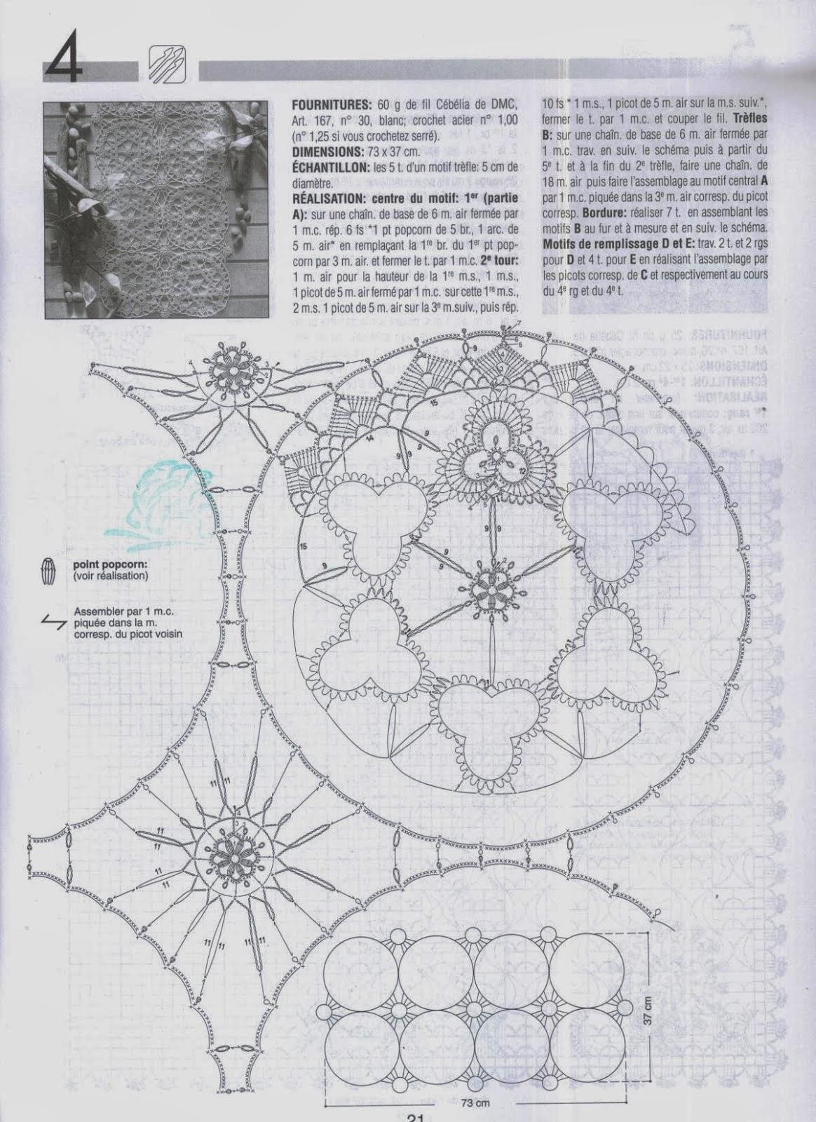 Lo spazio di lilla schemi all 39 uncinetto crochet patterns for Schemi uncinetto bordi