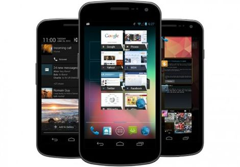 android 4.1.2 update for galaxy nexus