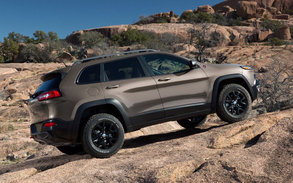 2014 Jeep Cherokee Widescreen HD Wallpaper 6