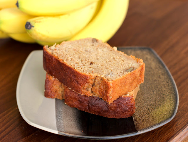 Healthy Banana Bread Pound Cake