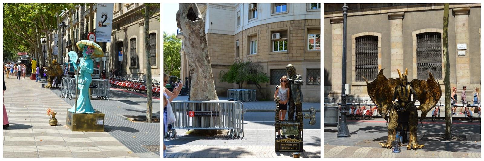 La Ramblas Street Performers