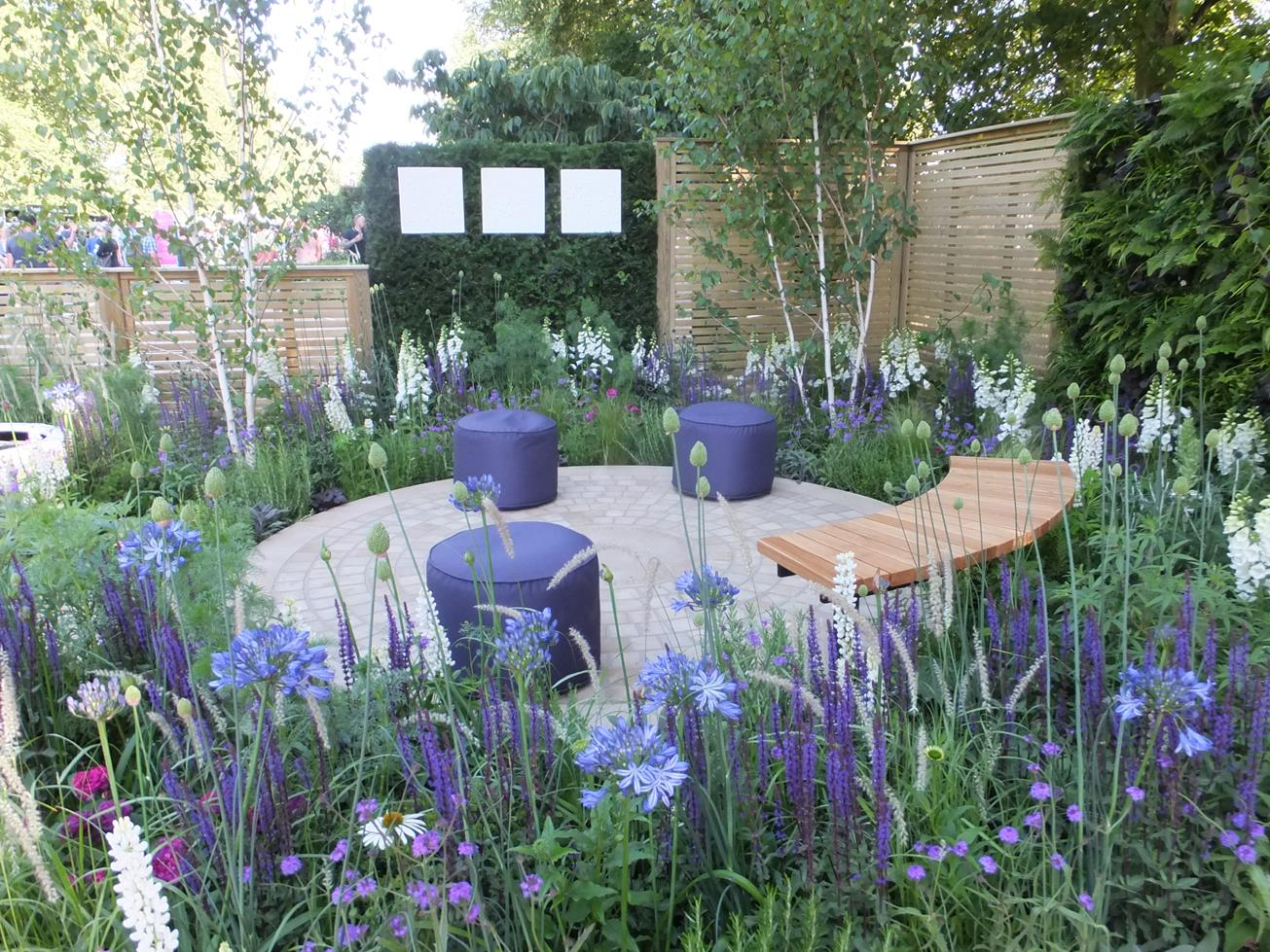 Alternative eden exotic garden hampton court show gardens 2015 - Hampton court flower show ...