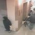 Mulher deixa presente num hospital!