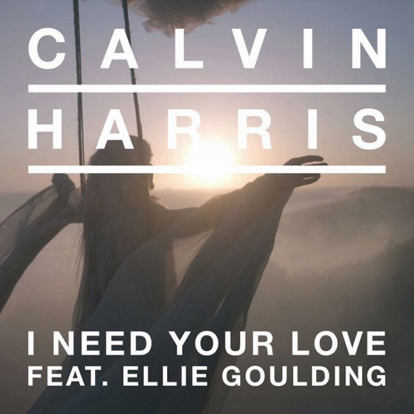 i-need-your-love-calvin- Calvin Harris I Need Your Love Album Cover