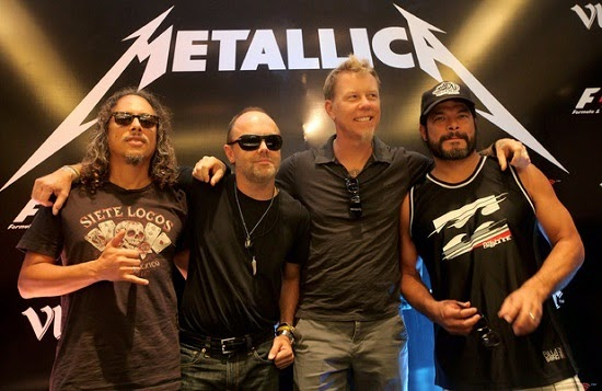 less known facts about metallica
